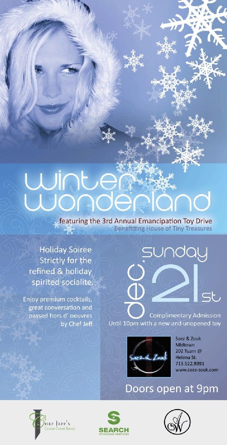 Winter Wonderland Toy Drive Flyer FINAL