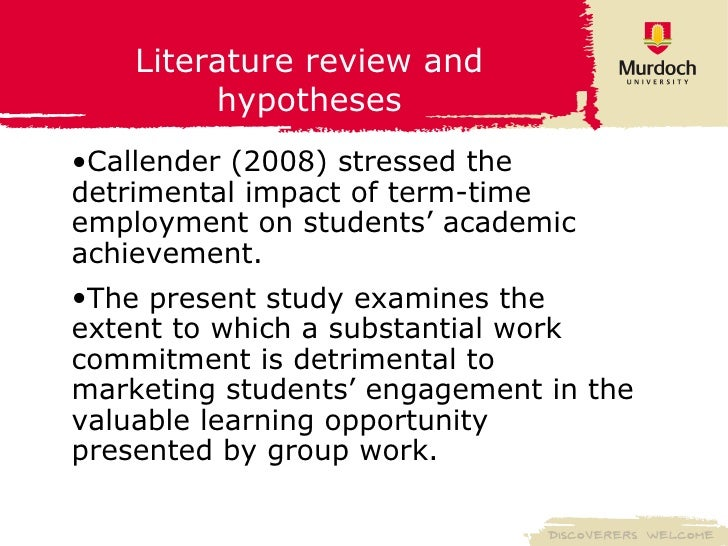 literature review about the effects of stress Differential effects on stress experiences such that performance may be  decreased or increased based on feedback content this literature review  reveals the.