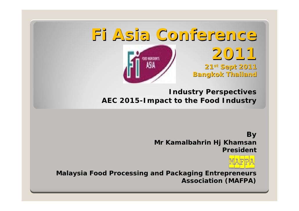 Fi Asia Conference                       2011                                      21st Sept 2011                         ...