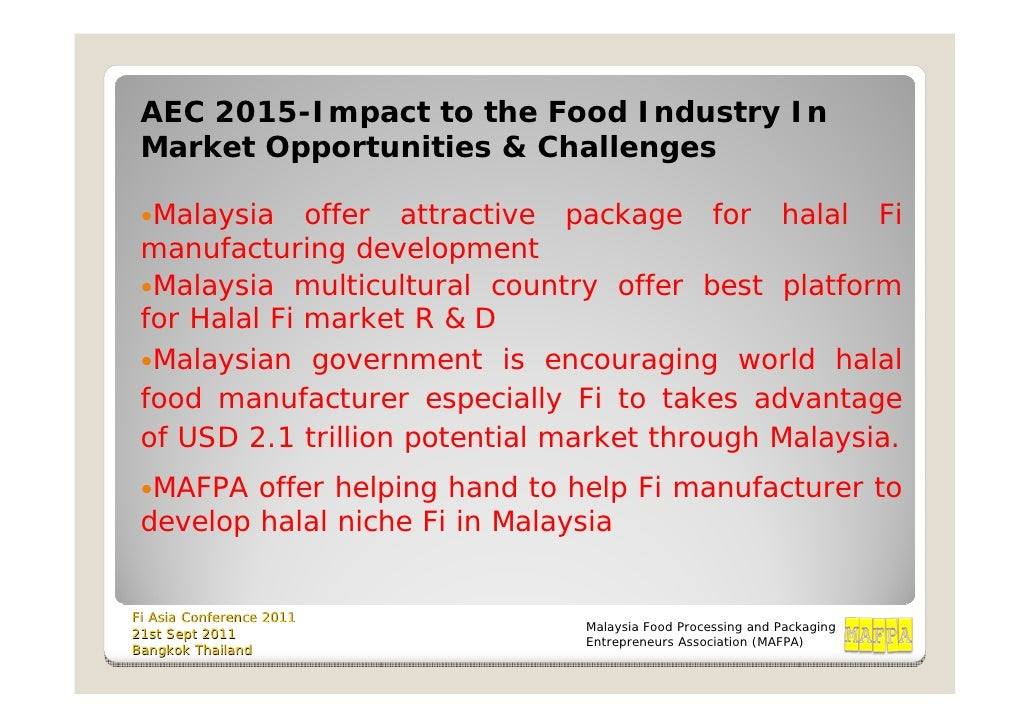 ASEAN Economic Community 2015: Malaysian Perspective