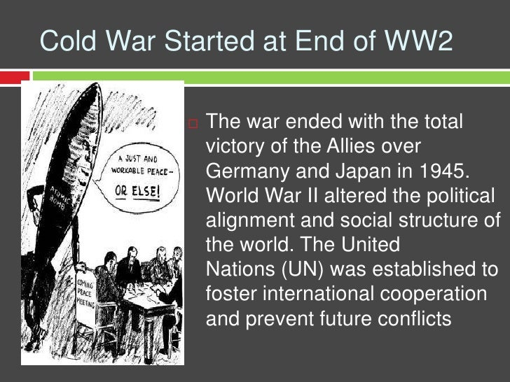 Image result for what began the cold war