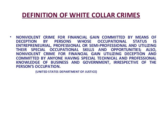 white collar crime 2 Featured white collar crime news find breaking news, commentary, and archival information about white collar crime from the latimes (page 2 of 5.