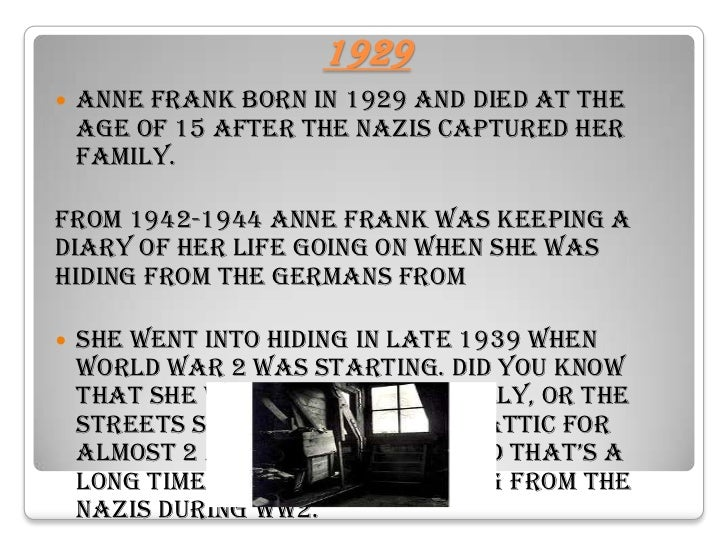 anne frank biography and the short Anne frank is one of the world's best remembered holocaust victims this penlighten article provides a brief account of her short life and also.