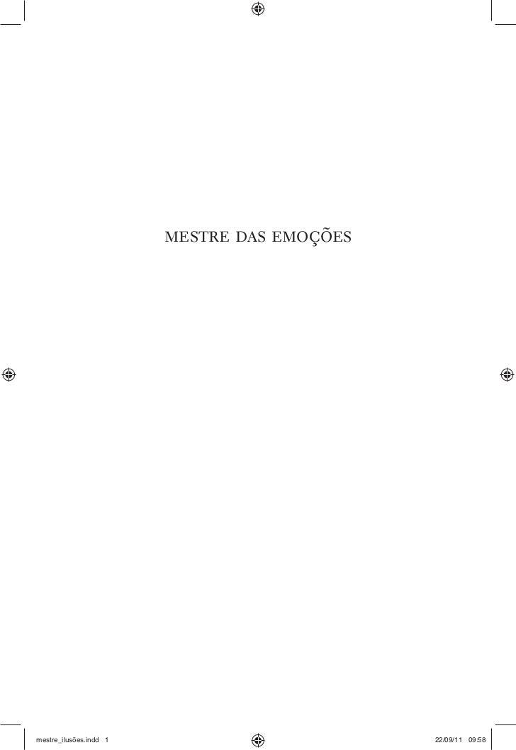mestre das emoçõesmestre_ilusões.indd 1                        22/09/11 09:58