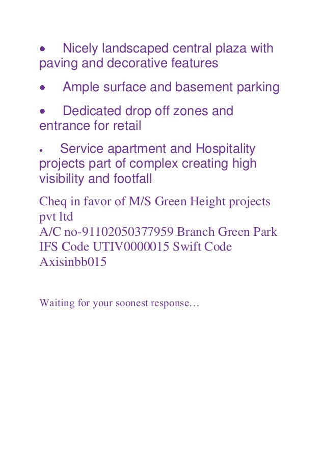 9650100436 Baani Center Point NH-8 Multipurpose Suites/Gurgaon Slide 3