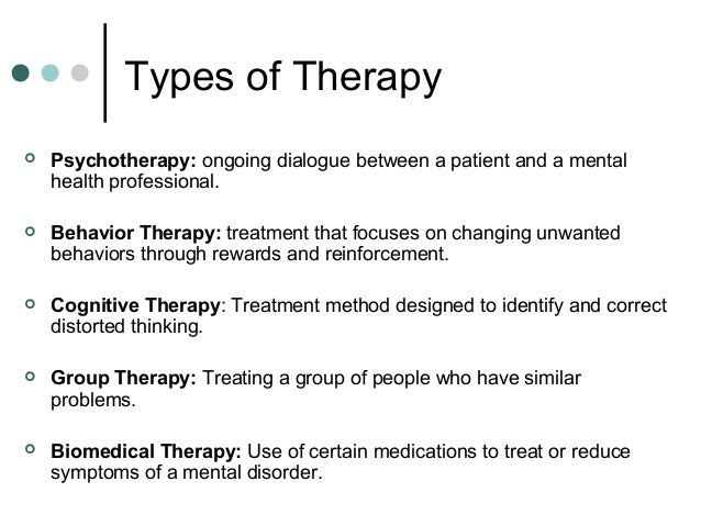 types of mental disorders Mental illness treatment can take place in a variety of settings and typically involves a multidisciplinary team of providers such as counselors, psychologists, psychiatrists, nurses, mental health aides, and peer support professionals there is no one-size-fits-all approach to mental health .