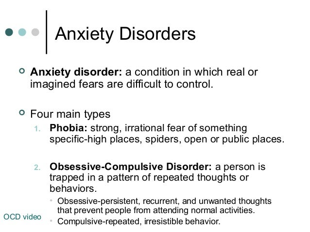 American Family - Chapter 9, Understanding Mental Illness