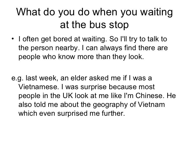 ... 5. What Do You Do When ...