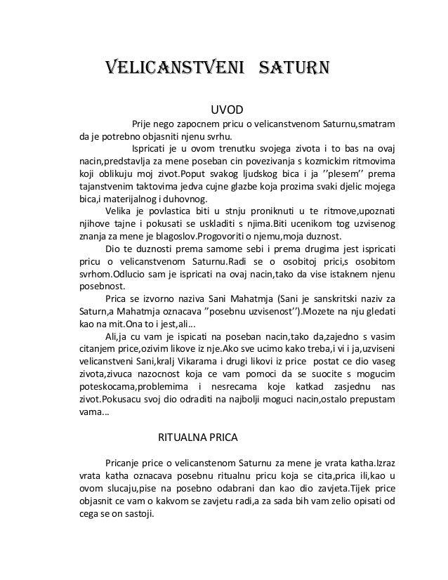 velicanstveni SATURN UVOD Prije nego zapocnem pricu o velicanstvenom Saturnu,smatram da je potrebno objasniti njenu svrhu....