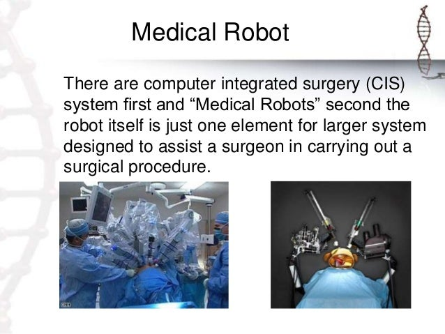 robotics in medical science