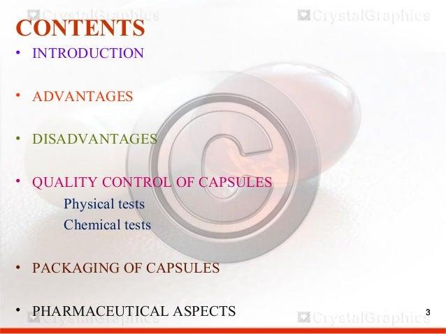 QUALITY CONTROL OF CAPSULES Slide 3