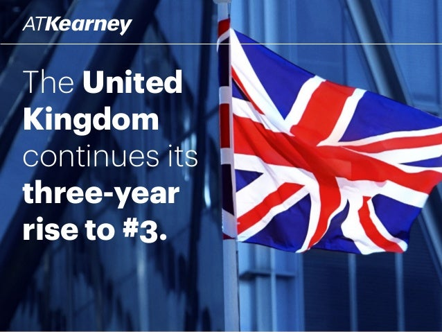 The United Kingdom continues its three-year rise to #3.
