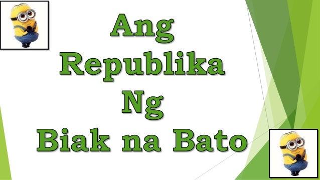 Hulyo 7, 1897 Siya ang nagtatag ng Republikang Biak na Bato Sinulat nina Isabelo Artacho at Felix Ferrer ang Konstitusy...