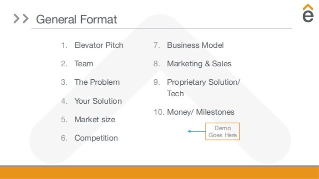 A guide to in-depth investor pitches by Elevate Ventures Slide 2