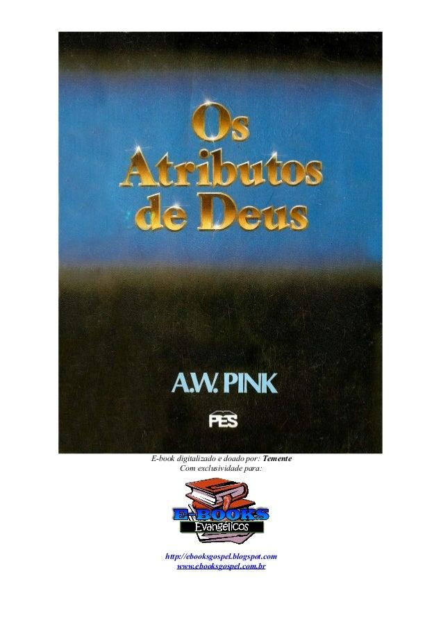 E-book digitalizado e doado por: Temente Com exclusividade para: http://ebooksgospel.blogspot.com www.ebooksgospel.com.br