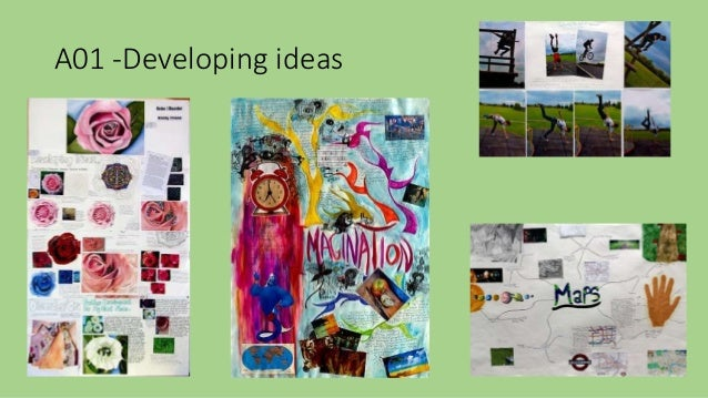 A  GCSE Art Coursework  Sense of Place