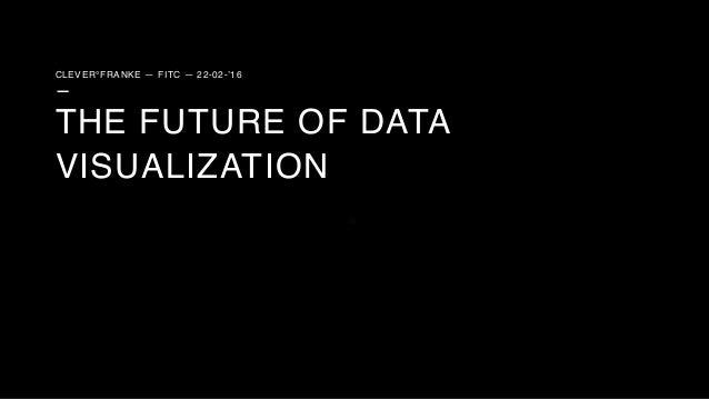 CLEVER°FRANKE — FITC — 22-02-'16 — THE FUTURE OF DATA VISUALIZATION