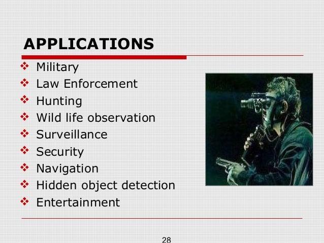 night vision technology seminar pdf
