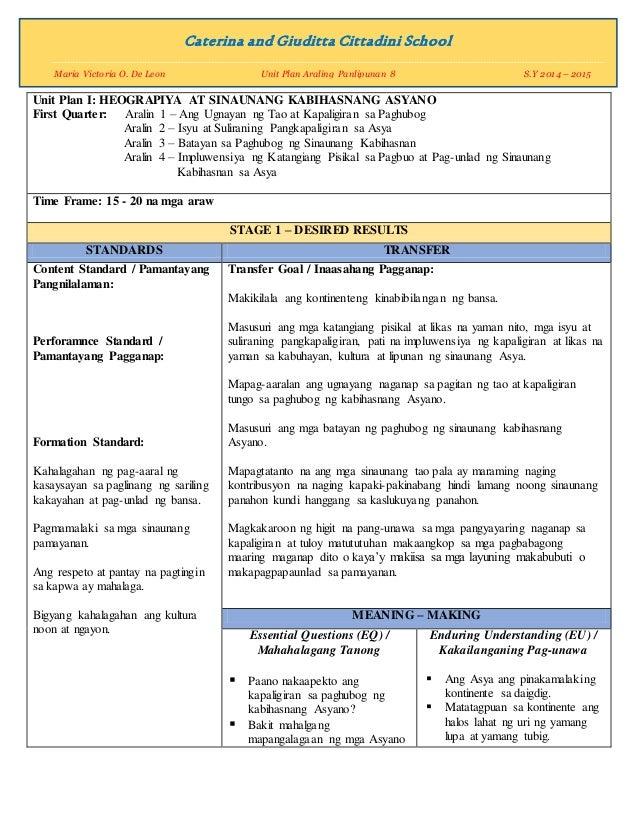 example of araling panlipunan lesson plam Grade 7 k-12 lesson plans download grade 7 lesson plans below: araling panlipunan: ap lesson 1 - download ap lesson 2.