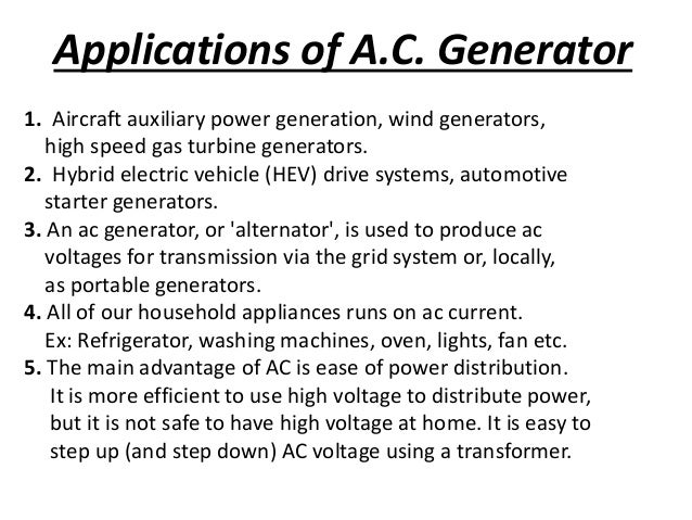 A C  Generator