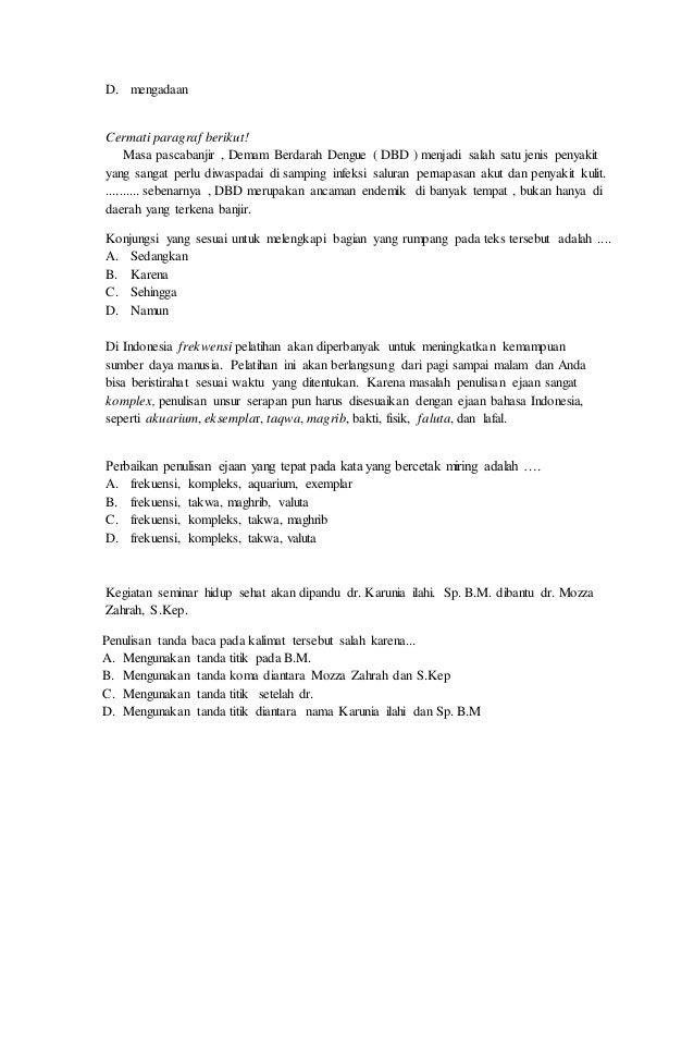 latihan soal b.indonesia