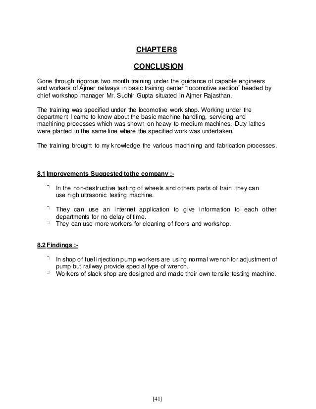 Ajmer Railway locomotive Training Report