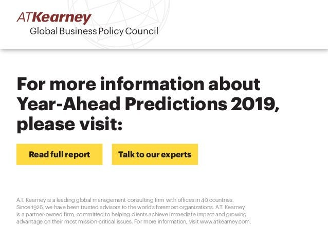 A.T. Kearney is a leading global management consulting firm with offices in 40 countries. Since 1926, we have been trusted...