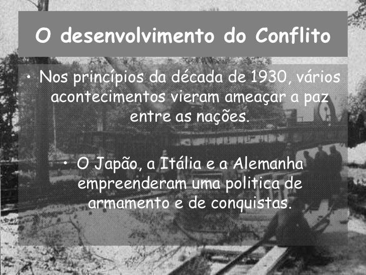 A 2ª Guerra Mundial Slide 2