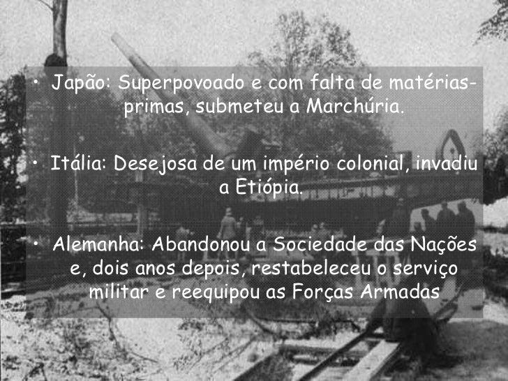 A 2ª Guerra Mundial Slide 3