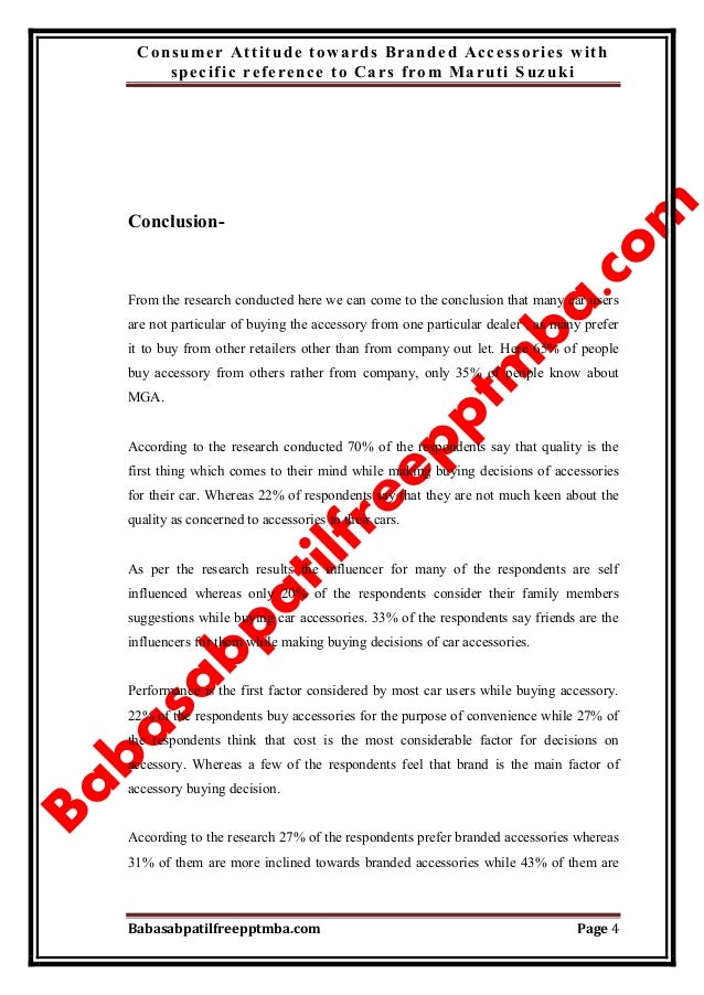 a project report on customer satisfaction of maruti suzuki List of mba projects  comparative analysis of customer satisfaction towards supermarket and provision stores 4  a study on maruti suzuki.