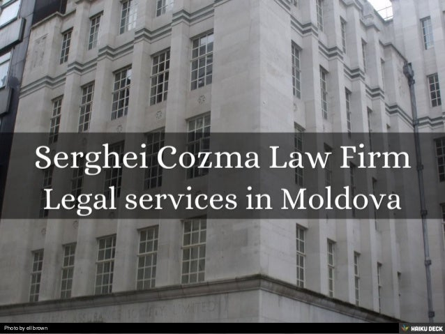 Serghei Cozma Law Firm <br>Legal services in Moldova<br>