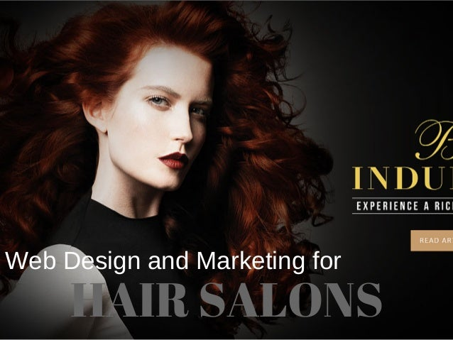 Web Design and Marketing for HAIR SALONS