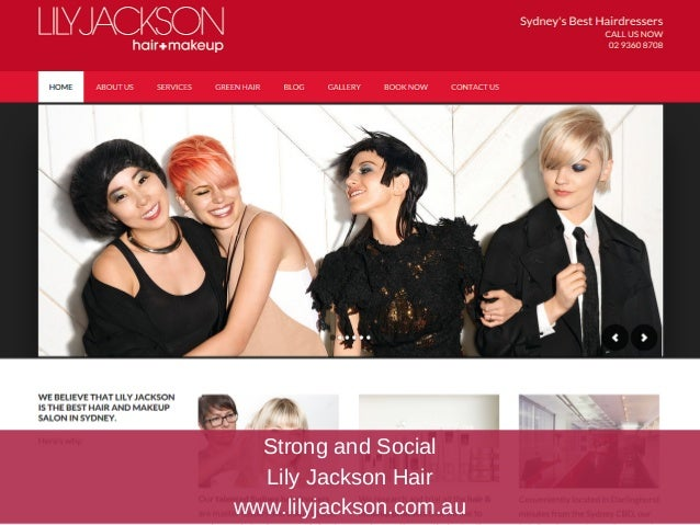 Hair Salon Web Design for Small Business