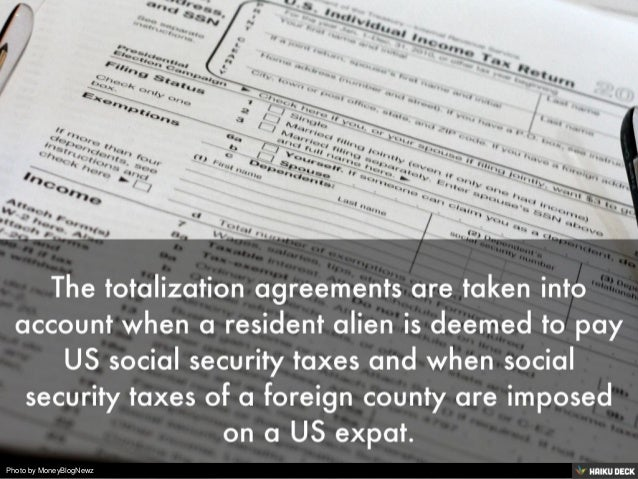 Expat Tax Preparation Do You Know How Totalization Agreements Affec