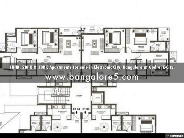 1BHK, 2BHK & 3BHK Apartments for sale in Electronic City, Bangalore at Godrej E-City. Slide 3
