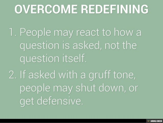 How to overcome communication breakdowns