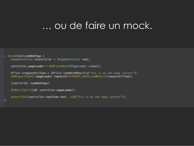 Nous sommes donc passé d'un code : • Peu lisible (blocks en V) • Peu maintenable • Difficilement testable