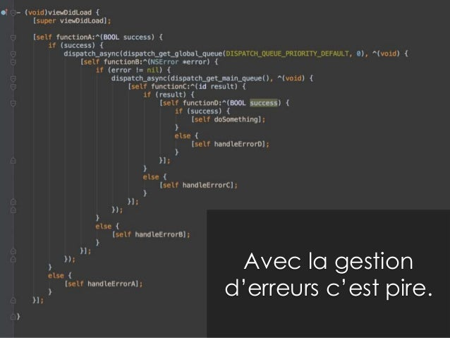 Pour tester on peut attendre …