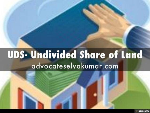 undivided share