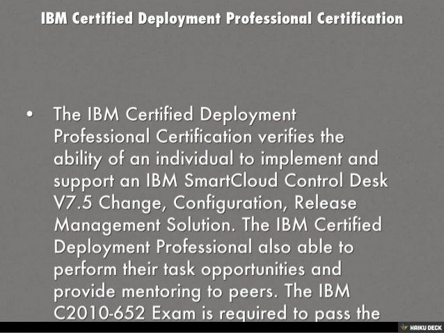 IBM C2010-652 Exam Updated PDF 2016