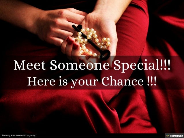 meet with someone