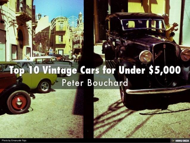 top 10 vintage cars for under 5 000. Black Bedroom Furniture Sets. Home Design Ideas