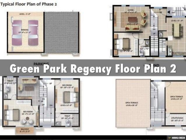 Green Park Regency 3BHK Row Houses & 4BHK Row Houses Sale off Sarjapur Road, Bangalore