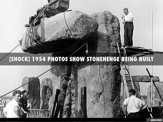 the building of the stonehenge Stonehenge is interesting, though any mystical why was stonehenge built and its surrounding landscape along with the social and economic conditions during the monument's main stages of construction.