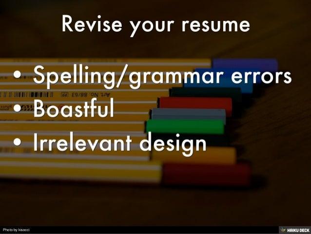 building careers writing resumes