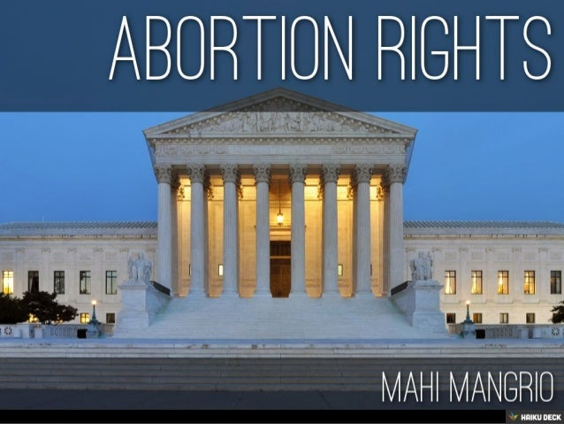 Abortion rights <br>Mahi Mangrio