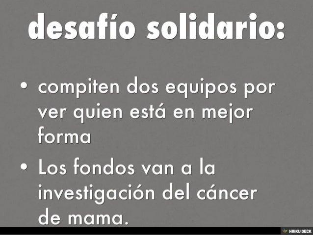 eventos solidarios Slide 2