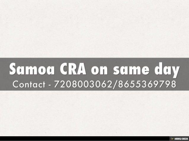 SAMOA COC Slide 2
