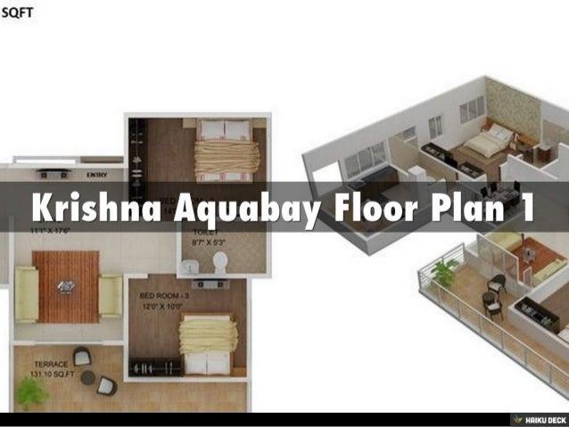 Krishna Aquabay 3BHK Apartments & 5BHK Apartments for sale in Electronic City,Bangalore Slide 2