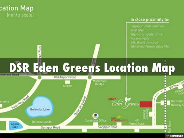 DSR Eden Greens 2BHK Apartments , 3BHK Apartments & 4BHK Apartments for sale off SarjapurRoad, Bangalore